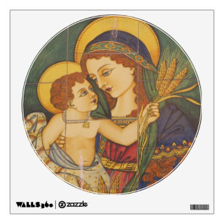 Wall Decal--Italian Madonna & Child Wall Decal