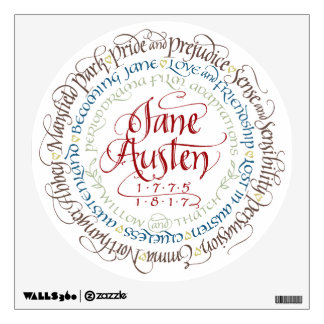 Wall Decal - Jane Austen Period Drama Adaptations
