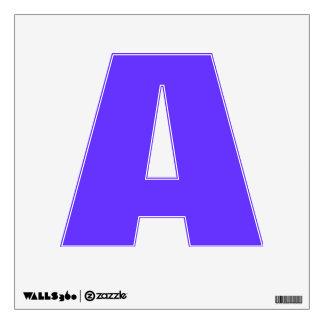 Wall Decal Letter A