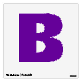 Wall Decal Letter B