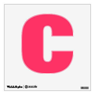 Wall Decal Letter C