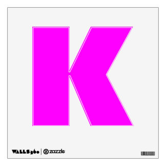 Wall Decal Letter K