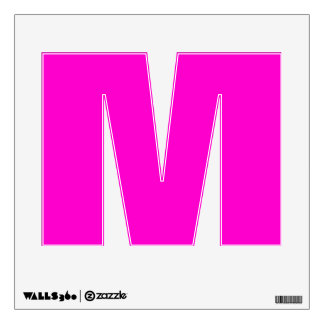 Wall Decal Letter M