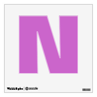 Wall Decal Letter N