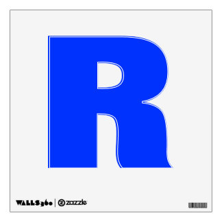 Wall Decal Letter R