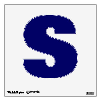 Wall Decal Letter S