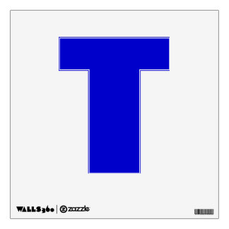 Wall Decal Letter T