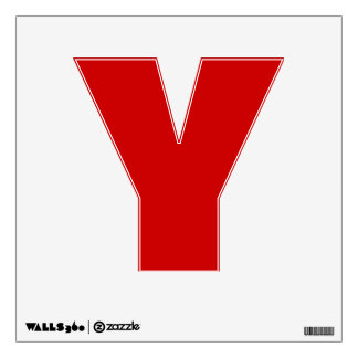 Wall Decal Letter V