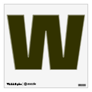 Wall Decal Letter W