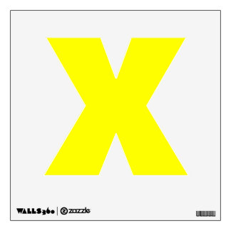 Wall Decal Letter X