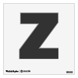 Wall Decal Letter Z