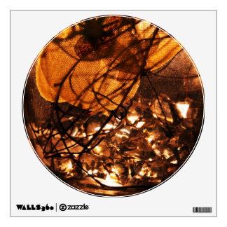 Wall Decal 'Liquid Gold'