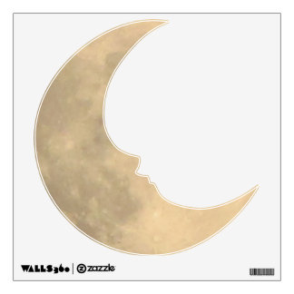Wall Decal--Man in the Moon Wall Sticker