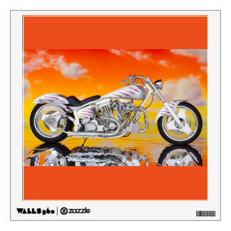 Wall Decal-Motorcycle Wall Sticker
