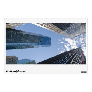 Wall Decal - New York City- looking up skyline