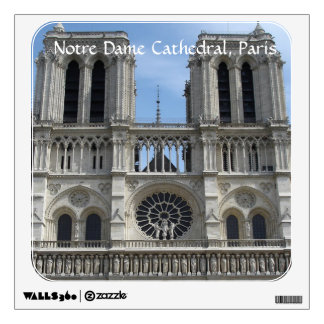 Wall Decal--Notre Dame Cathedral Wall Sticker