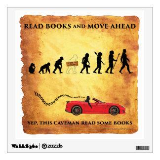 Wall Decal Read Caveman Get Ahead