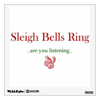 Wall Decal- Sleigh Bells Ring Wall Sticker