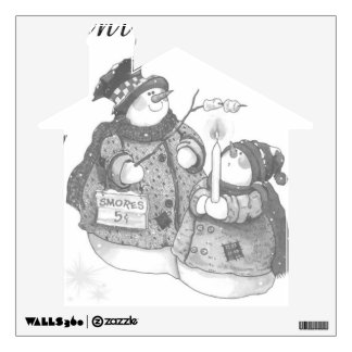 Wall Decal/Snowwomen Wall Sticker