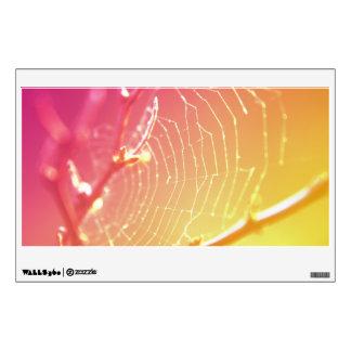 Wall Decal 'Sunray Color Web'