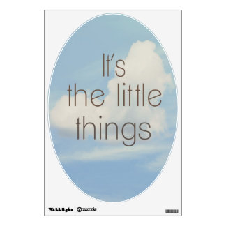 Wall Decal...The Little Things Wall Decal