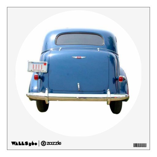 Wall Decal - Vintage 1940 Big Blue Chevy