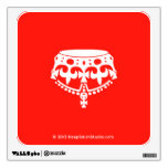 [Crown upside down]  Wall Decals
