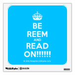 [Crown] be reem and read on!!!!!!  Wall Decals