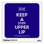 [UK Flag] keep a stiff upper lip  Wall Decals