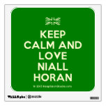 [UK Flag] keep calm and love niall horan  Wall Decals