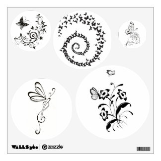 Wall Decals/Butterflies Room Graphic