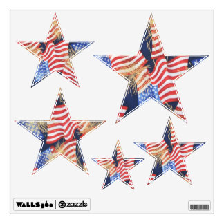 Wall Decals Patriotic Stars