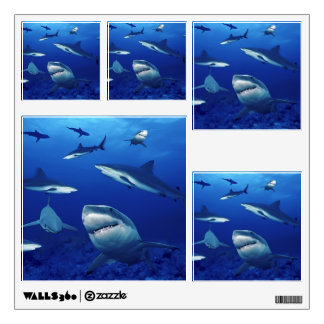 Wall Decals-Sharks Wall Decal