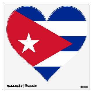 Wall Decals with flag of Cuba