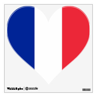 Wall Decals with flag of France