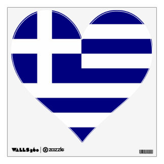 Wall Decals with flag of Greece
