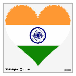 Wall Decals with flag of India