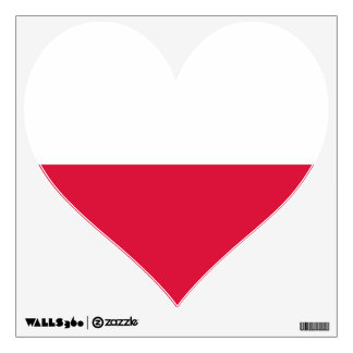 Wall Decals with flag of Poland