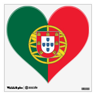 Wall Decals with flag of Portugal