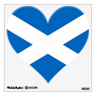 Wall Decals with flag of Scotland