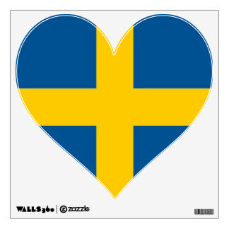 Wall Decals with flag of Sweden