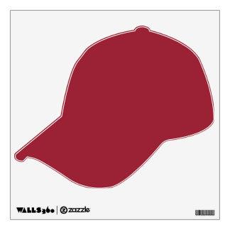 WALL DECOR ALPHA LETTERING BASEBALL CAP