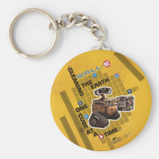 Wall-E 1 Basic Round Button Keychain