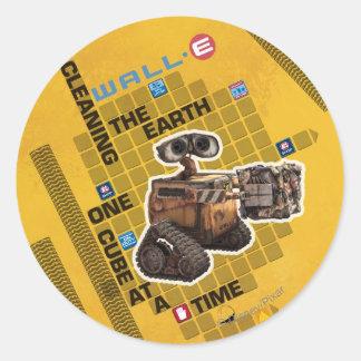 Wall-e 1 pegatina redonda