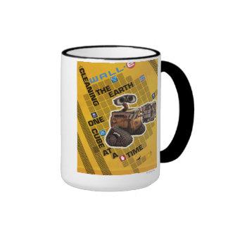 Wall-e 1 taza de dos colores
