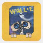 WALL-E 2 CALCOMANÍA CUADRADA PERSONALIZADA