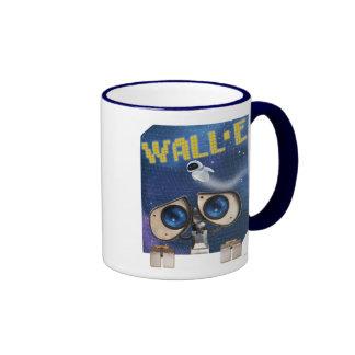 WALL-E 2 TAZA DE DOS COLORES