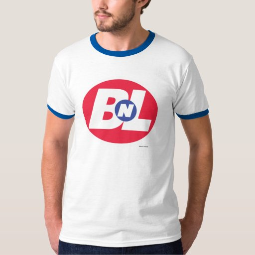 Wall e bnl buy n large logo t shirt zazzle for Where to order shirts with logos