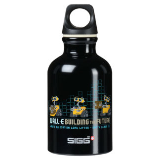 WALL-E Building Future Aluminum Water Bottle