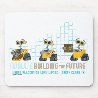 WALL-E Building Future Mouse Pad